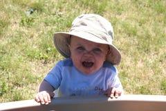 Grito do bebê Imagens de Stock
