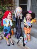 Grito en Halloween Imagen de archivo libre de regalías