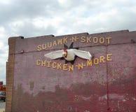 Grito-n-Skoot Galinha-N-mais, EL Reno, Oklahoma Imagem de Stock Royalty Free