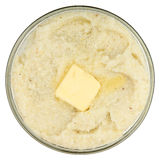 Grits and Butter Royalty Free Stock Photos