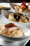 Grits three ways Stock Photos