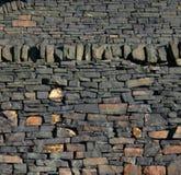 Gritstone vägg Arkivbilder