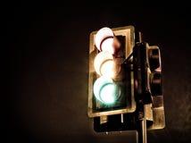 Gritty Traffic Lights Stock Photo