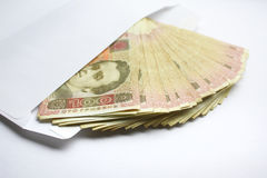 Grivna del dinero UAH Imagenes de archivo