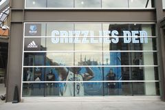 The Grizzlies Den At The FedEx Forum Royalty Free Stock Images