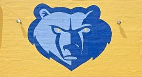 Grizzlies NBA Basketball Team Logo Stock Photography