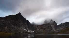 Grizzly Lake in Tombstone Territorial Park, Yukon, Canada.