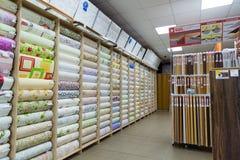 Grjazi Rosja, Sierpień, - 11, 2016 sklepów materiały budowlani - Prorab Obrazy Stock