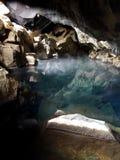 Grjotagja cave Stock Image