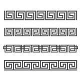 grka bezszwowy deseniowy Zdjęcia Stock