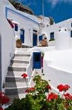 grka dom Obrazy Royalty Free