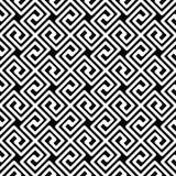 Grka Kluczowy Diagonalny Bezszwowy wzór ilustracja wektor