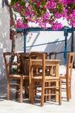 grka taras zdjęcie royalty free