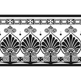 grka wzór royalty ilustracja
