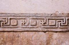 Grka wzór meanderu typ lub grka klucz Zdjęcie Royalty Free