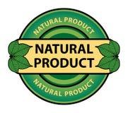 grön etikett Arkivfoto