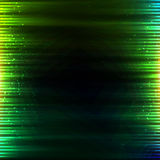Grön glödande bakgrund för ljusvektorabstrakt begrepp Arkivfoto