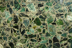 Grön marmortextur Arkivfoto