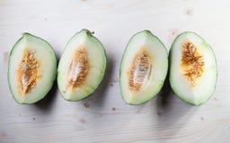 Grön melon Arkivbild