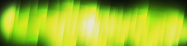 Grön pusseltitelrad Royaltyfria Foton