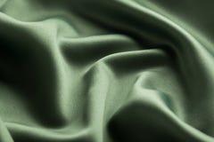 grön silk Arkivbilder
