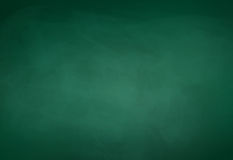 Grön svart tavlabakgrund Arkivfoto