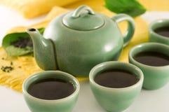grön tea Royaltyfria Foton