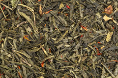 Grön tea texturerar Royaltyfria Bilder