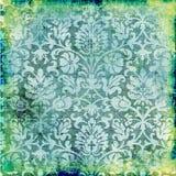 Grön wallpaper Royaltyfri Fotografi