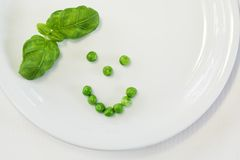 grön white Arkivfoton