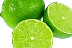 gröna limefrukter Arkivfoto