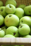Grüne Apfelfrucht Lizenzfreies Stockfoto