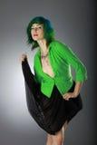 Grüne Art und Weise Lizenzfreies Stockbild