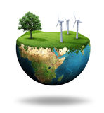 Grüne Erde Lizenzfreie Stockfotografie