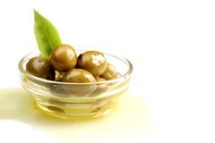 Grüne Olive Stockfotografie
