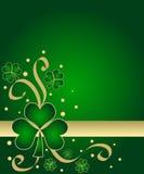 Grüne Shamrocks Stockfoto