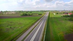 Grüne Straße stock footage