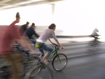 Grünen Sie Fahrrad Lizenzfreie Stockbilder