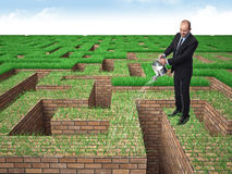 Grünen Sie Ihr Geschäft Lizenzfreies Stockbild