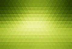 Grüner abstrakter Mosaikhintergrund Stockfotos