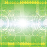 Grüner abstrakter Technologiehintergrund Lizenzfreie Stockbilder