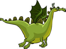 Grüner Drache Stockbild