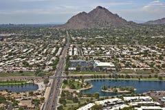 Grüner Gürtel, Scottsdale Lizenzfreies Stockbild