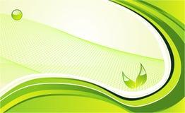 Grüner Umgebungshintergrund Lizenzfreies Stockbild