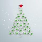 weihnachtskarten weihnachtskarte mit christmastree schnee. Black Bedroom Furniture Sets. Home Design Ideas