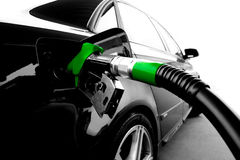 Grünes Benzin Lizenzfreies Stockbild