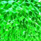Grünes Juwel/Emerald Geometric Abstract Stockfotografie