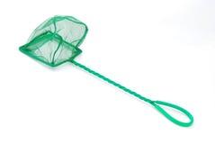 Grünes Netz für Fischbecken Stockfotos