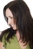 Grünes Portrait 2 Lizenzfreie Stockfotos
