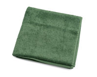 Grünes Tuch Stockfotos